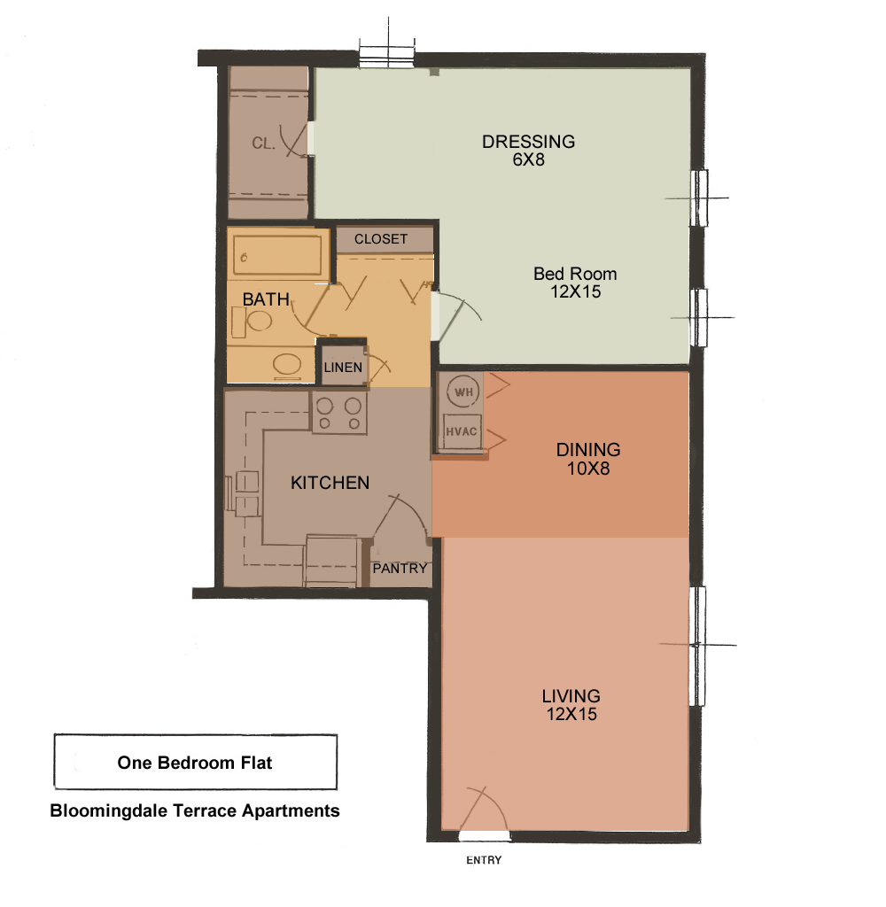 Floor Plans For Apartment Rentals Kingsport Tennessee