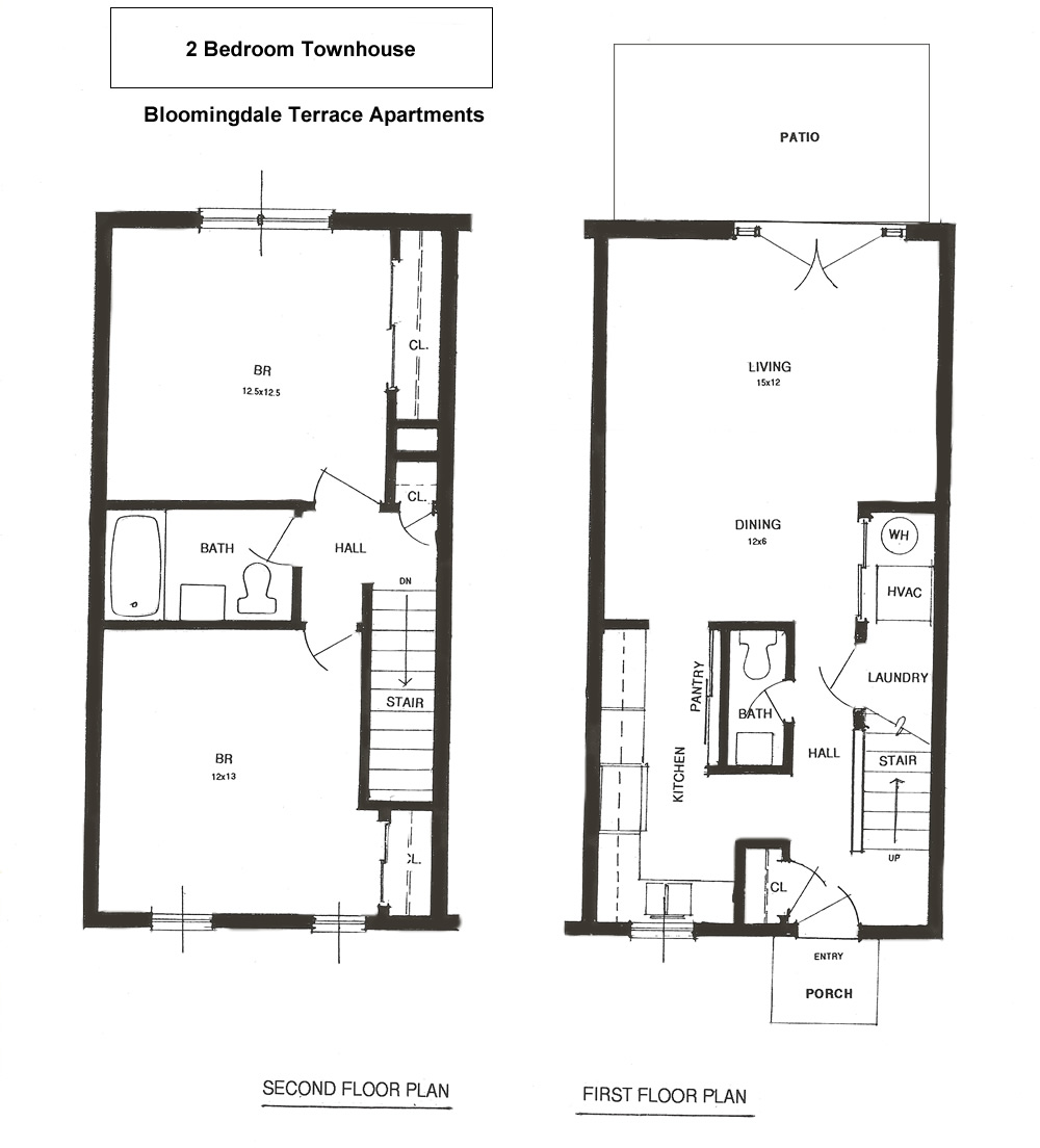 One Bedroom Apartments In Johnson City Tn: Floor Plans For Apartment Rentals Kingsport Tennessee